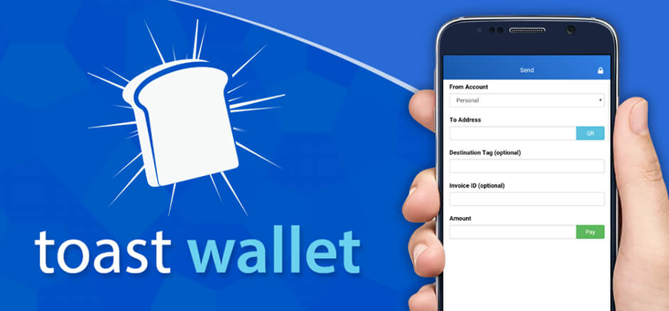 Toast Ripple wallet