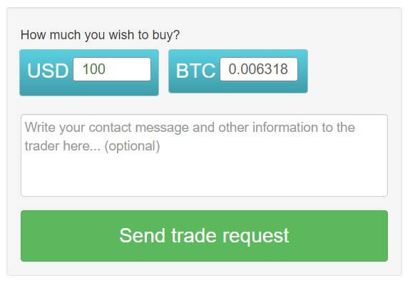 Buy Bitcoin With Paypal start trade screen shoots