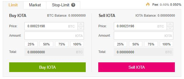 buy IOTA Coin