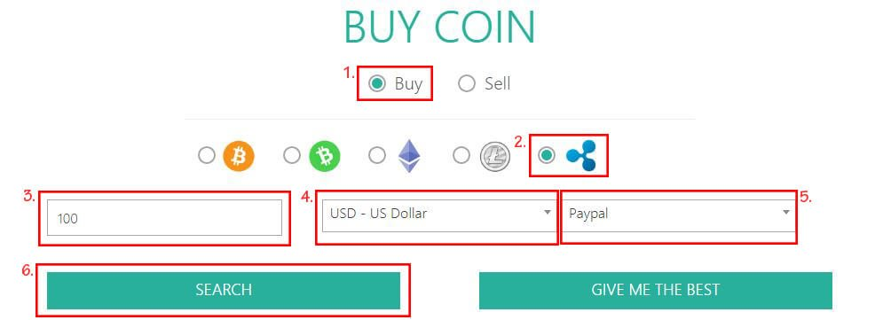Buy Ripple With PayPal