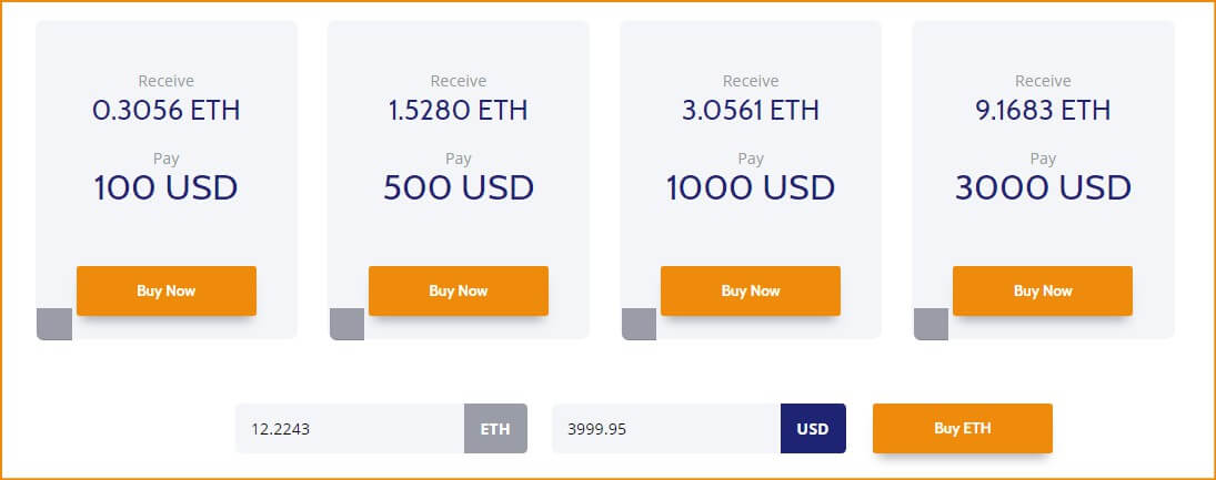 Coinmama pricing