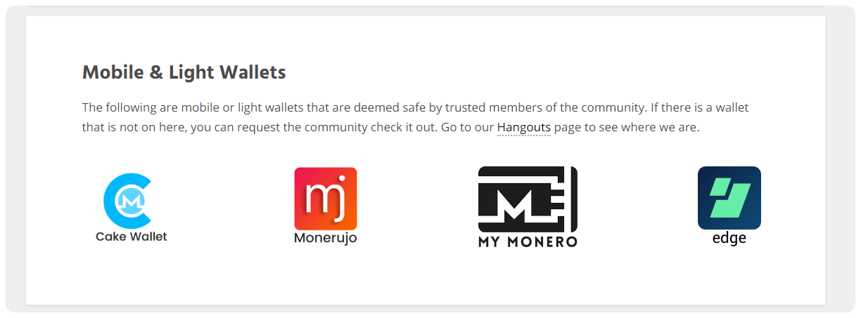 Monero Mobile Wallet moneruju